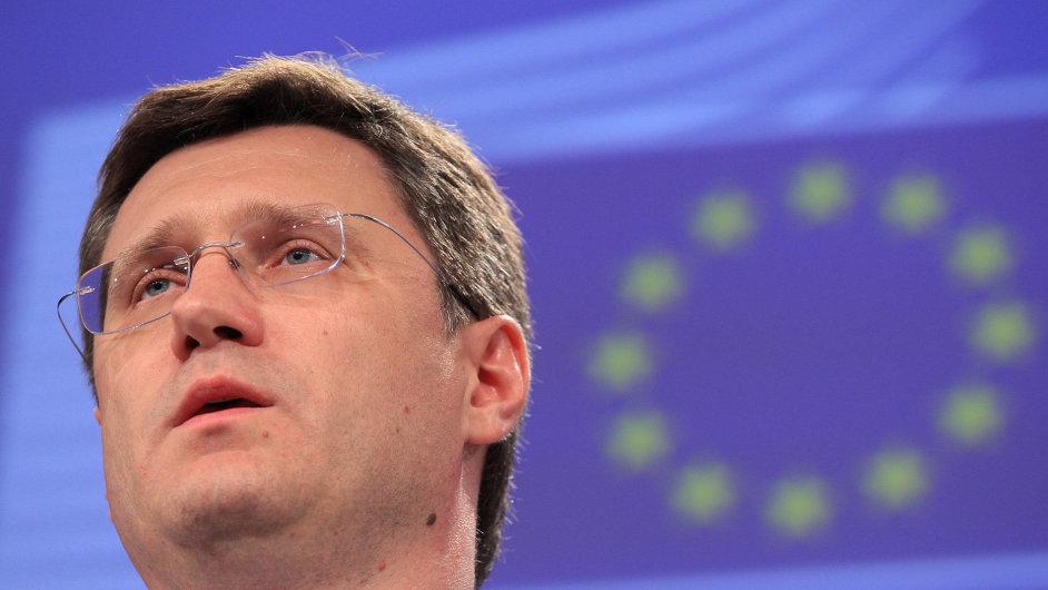 Ruský ministr pro energetiku Alexandr Novak