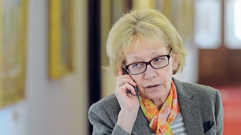 Ministryně spravedlnosti Helena Válková (za ANO)