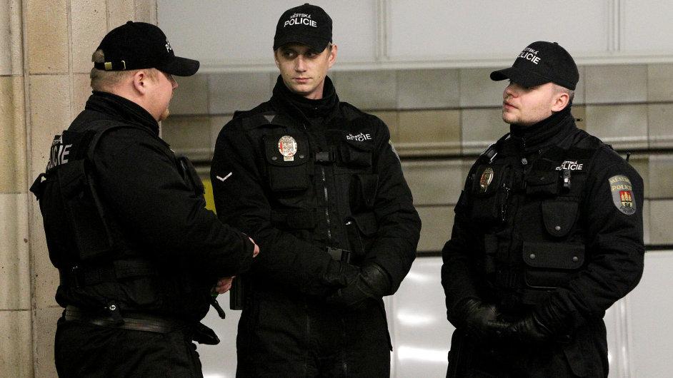 Strážníci městské policie, ilustrační foto
