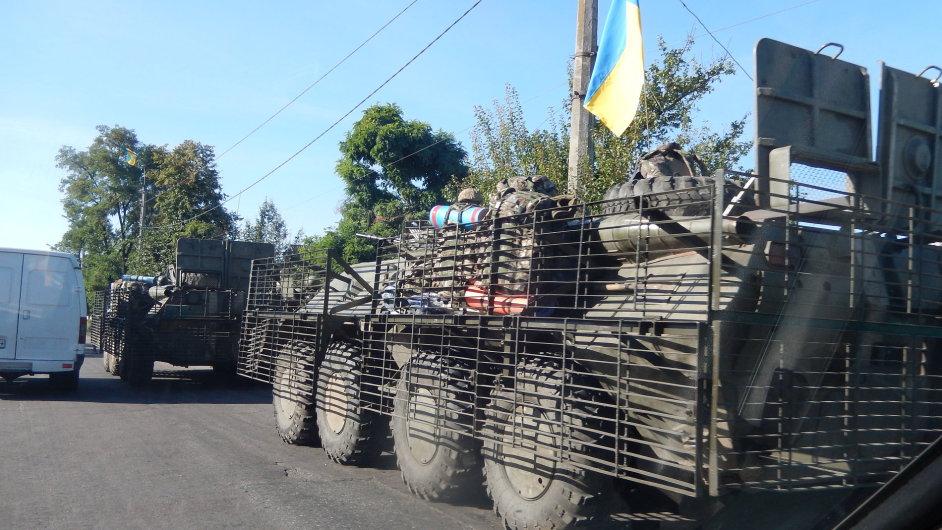 Lidé na Ukrajině