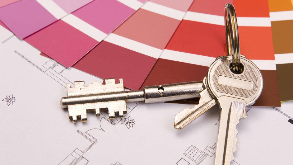 Domácnosti si nejvíce půjčovali na úvěry spojené s bydlením (ilustrační foto).