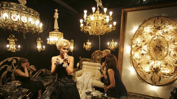 Milionářský veletrh v Moskvě aneb luxus na ruský způsob