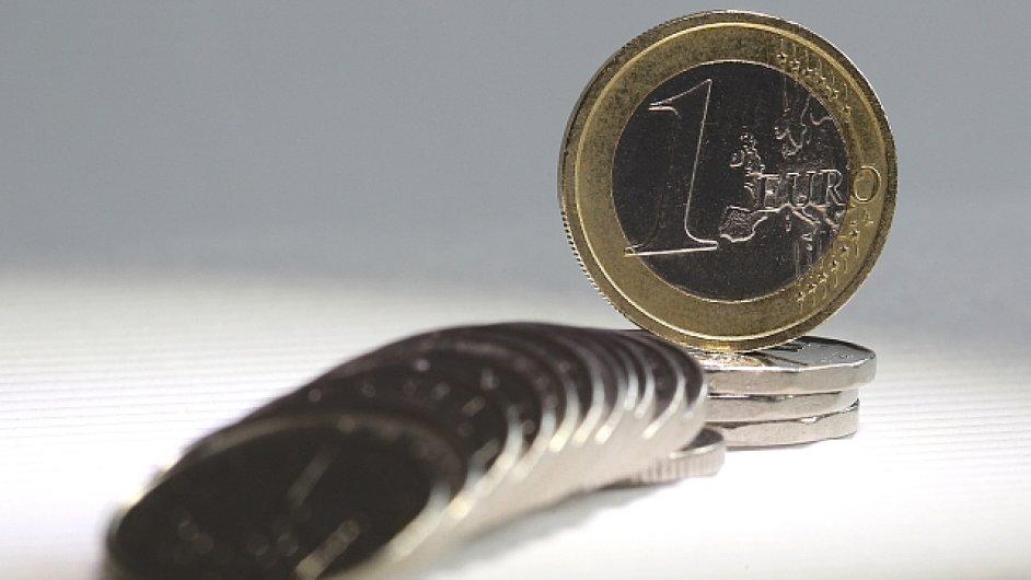Euro, ilustrační foto