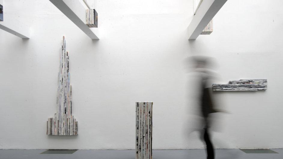 Snímky z výstavy finalistů Essl Art Award