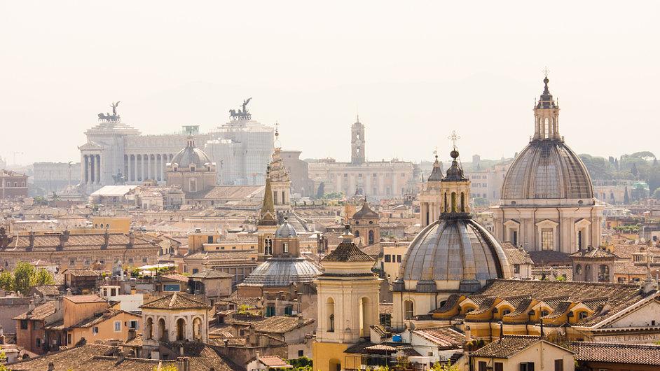 Řím - ilustrační foto