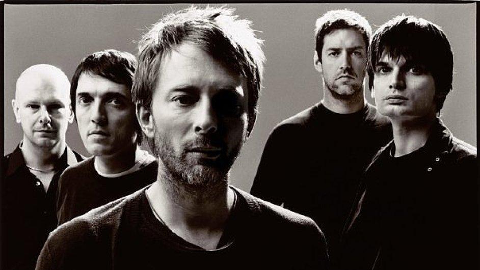 Radiohead na oficiálním snímku z roku 2008.