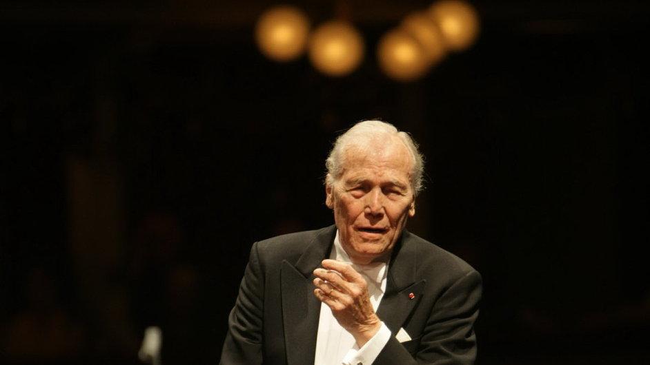 Georges Pretre (na snímku) za svůj vzor označoval skladatele Oliviera Messiaena.