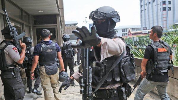 Indonéská policie zadržela komplice teroristických útoků.