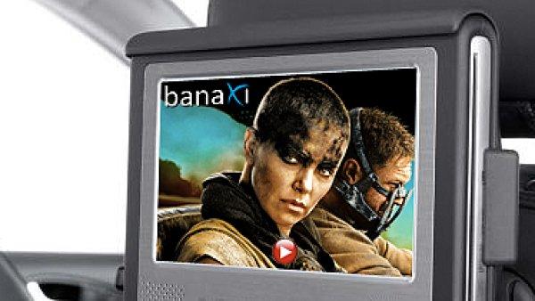 Banaxi nabídne díky OS.CAR filmy i v autech