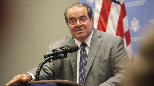 Zesnulý soudce Antonin Scalia.