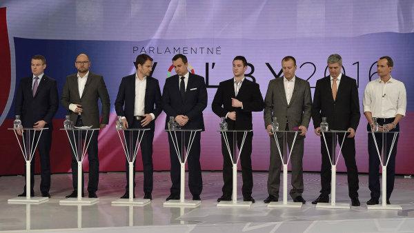 Parlamentní volby 6. března na Slovensku.