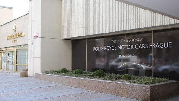 Salon značky Rolls-Royce se v Praze otevře 7. dubna.