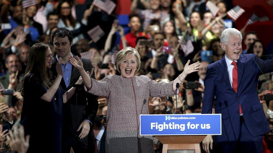 Hillary Clintonová New York