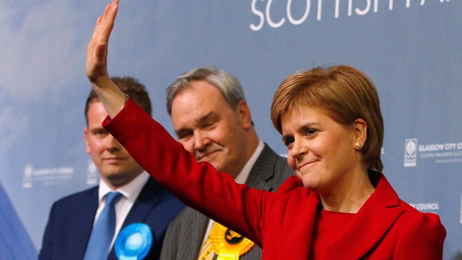 Vítězka skotských parlamentních voleb Nicole Sturgeonová