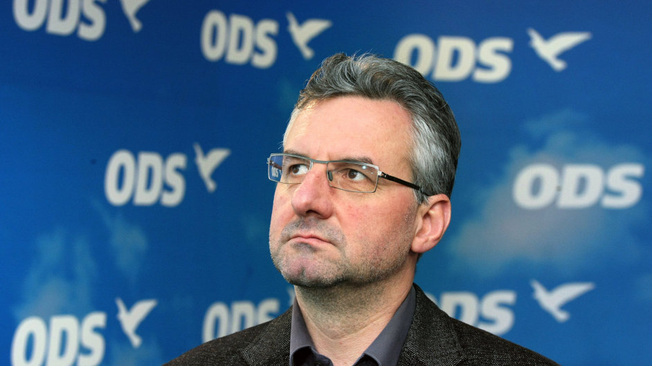 Jan Zahradil, člen grémia ODS.