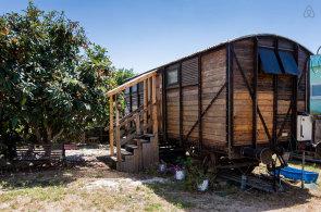 Dovolen� ve vlaku: Netradi�n� mo�nost pobytu pro obdivovatele �eleznic p�ichystala platforma Airbnb