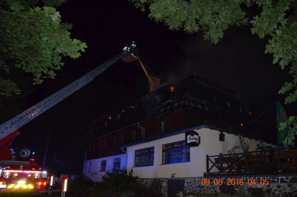 Požár Chomutovsko