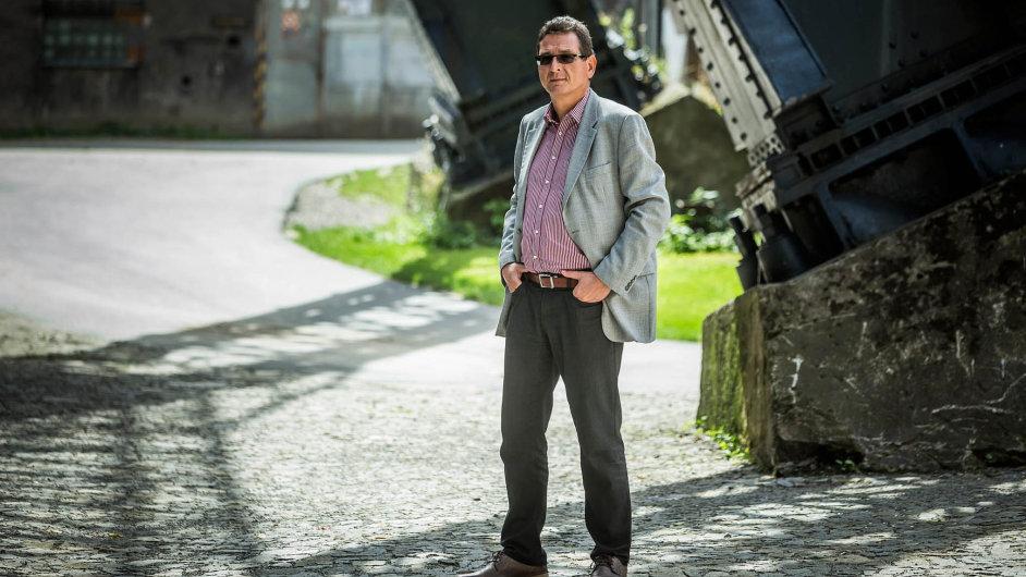 Jaromír Glisník, člen představenstva lucemburské společnosti M7, která v Česku poskytuje satelitní vysílání Skylink