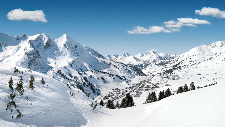 Lyžařské středisko Obertauern / Horní Taury