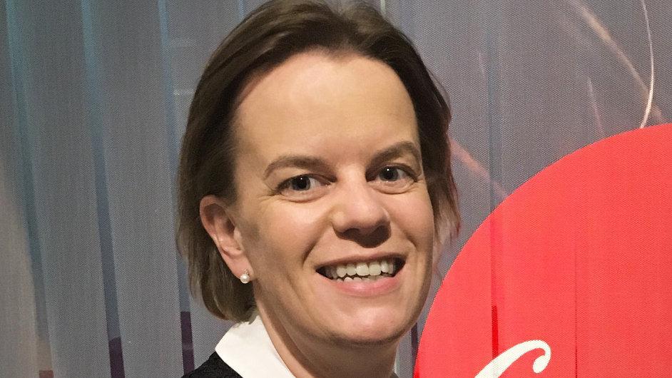 Gráinne Moynihan, finanční ředitelka společnosti Coca-Cola HBC pro ČR a SR