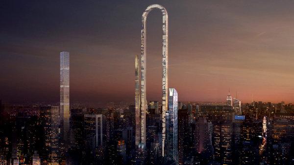 The Big Bend, který má být nejdelší budovou světa, by měla vyrůst na manhattanské 57. ulici.