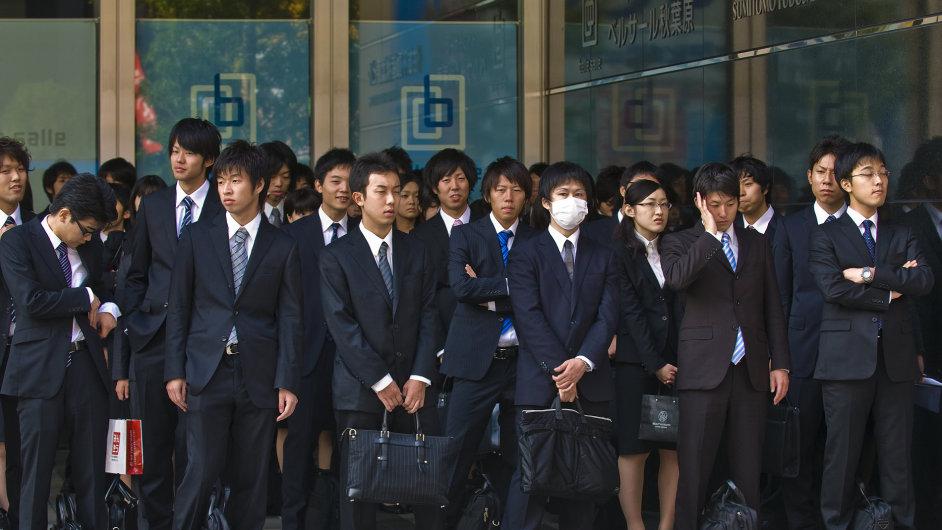 Japonsko, Japonci v práci, Japonec - Ilustrační foto.