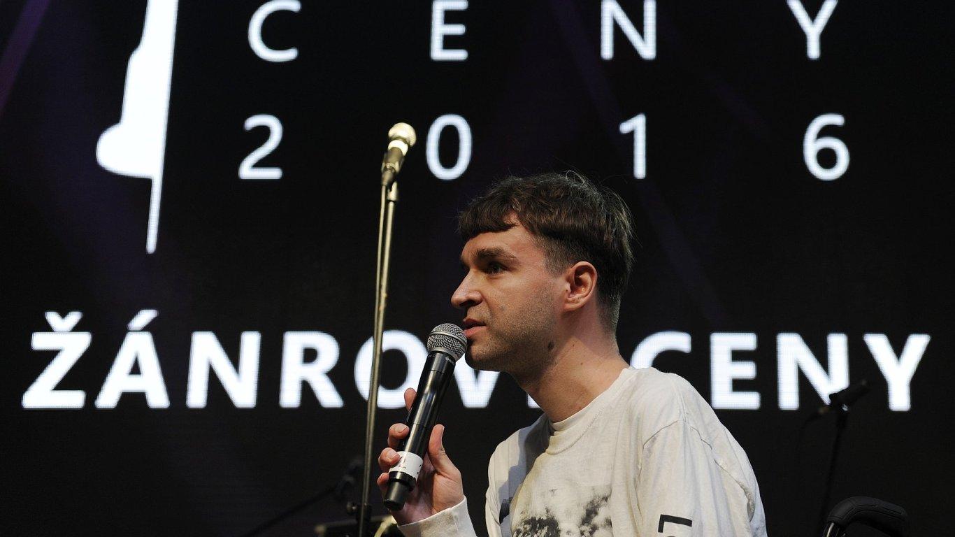 V kategorii elektronická hudba uspěl producent Ondřej Holý alias dné.