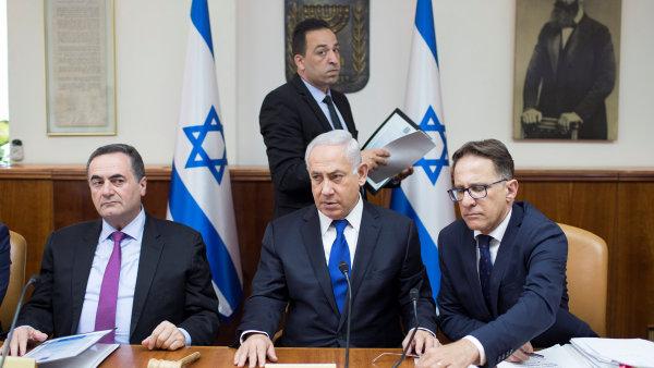 Nedělní jednání izraelské vlády v Jeruzalému.
