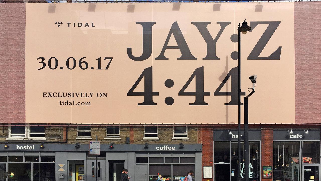 Jay-Z pro album 4:44 využil písmo Radima Peška.