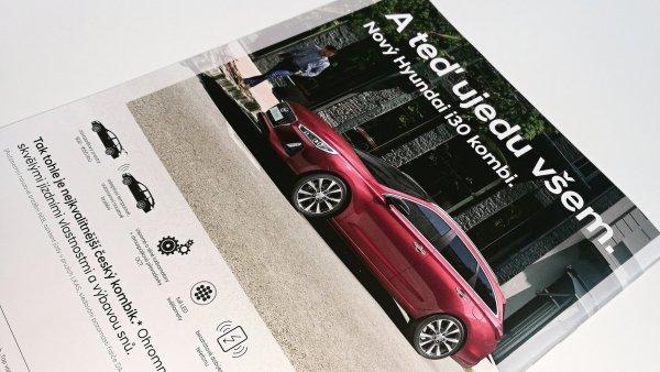 Inzerce na kombík Hyundai