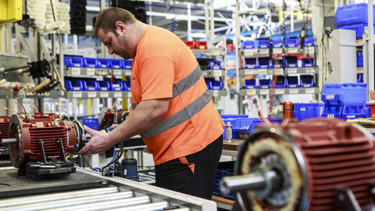 Výroba elektromotorů ve společnosti Siemens