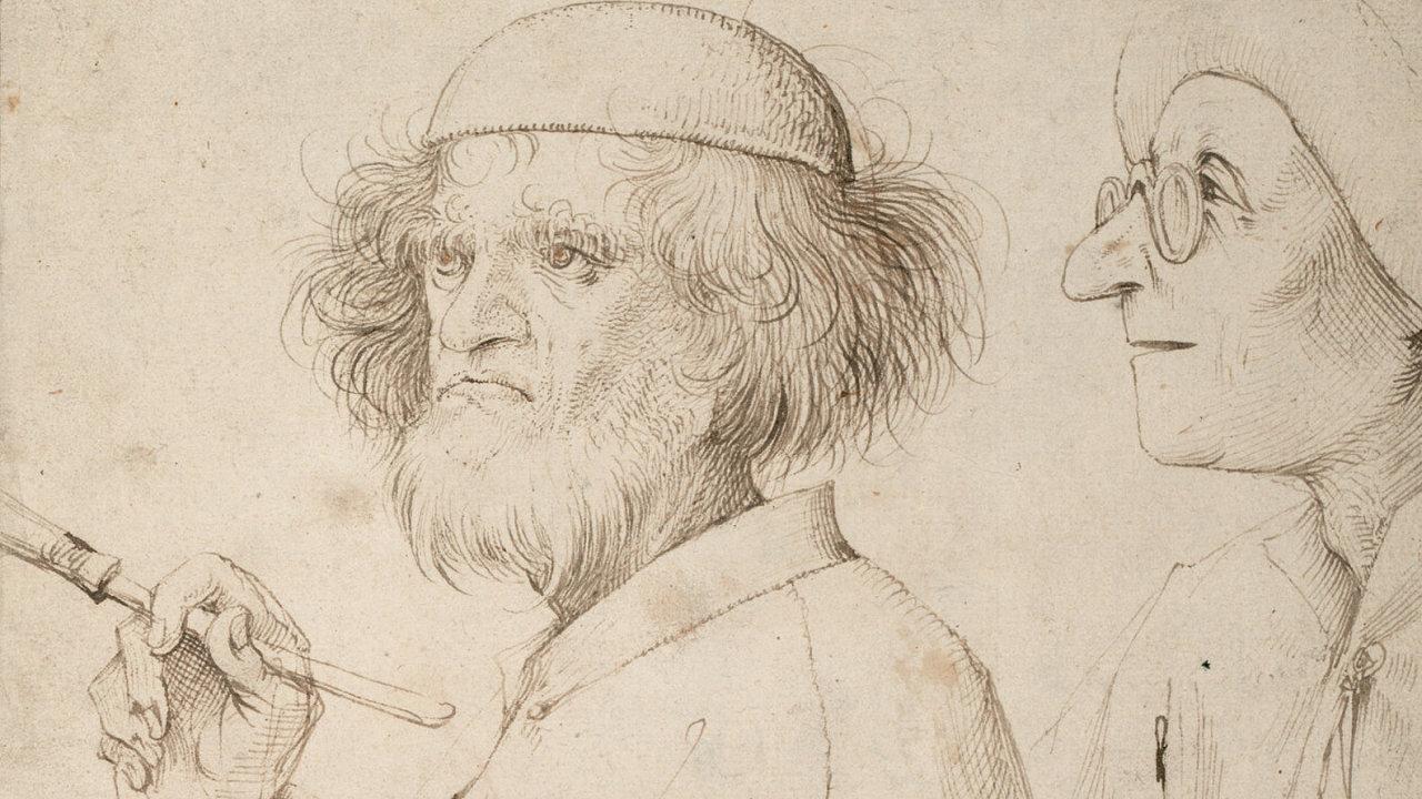 Pieter Bruegel starší: Malíř a kupec, cca 1565