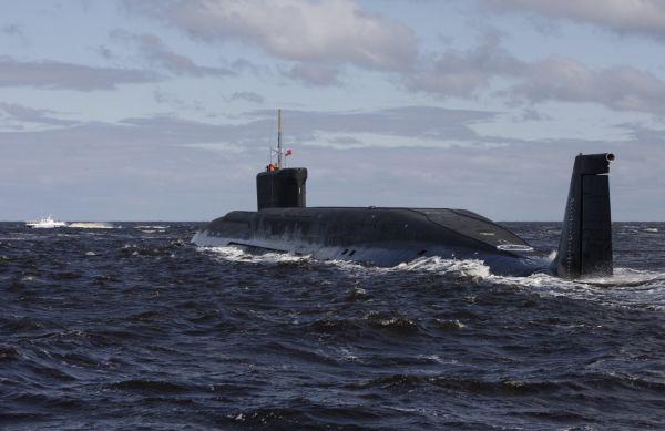 Rusko ponorka Yuri Dolgoruky