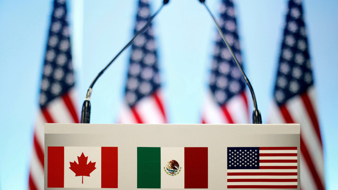 Původní dohoda NAFTA byla uzavřena před 24 lety mezi USA, Mexikem a Kanadou.