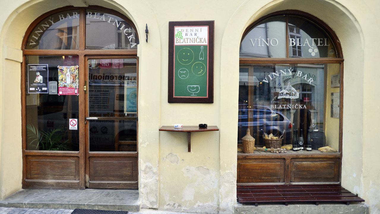 vinárna Blatnička