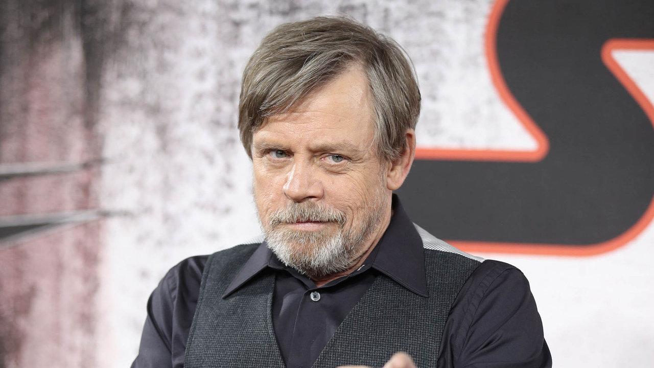 Hollywoodský herec, představitel Luka Skywalkera z Hvězdných válek Mark Hamill