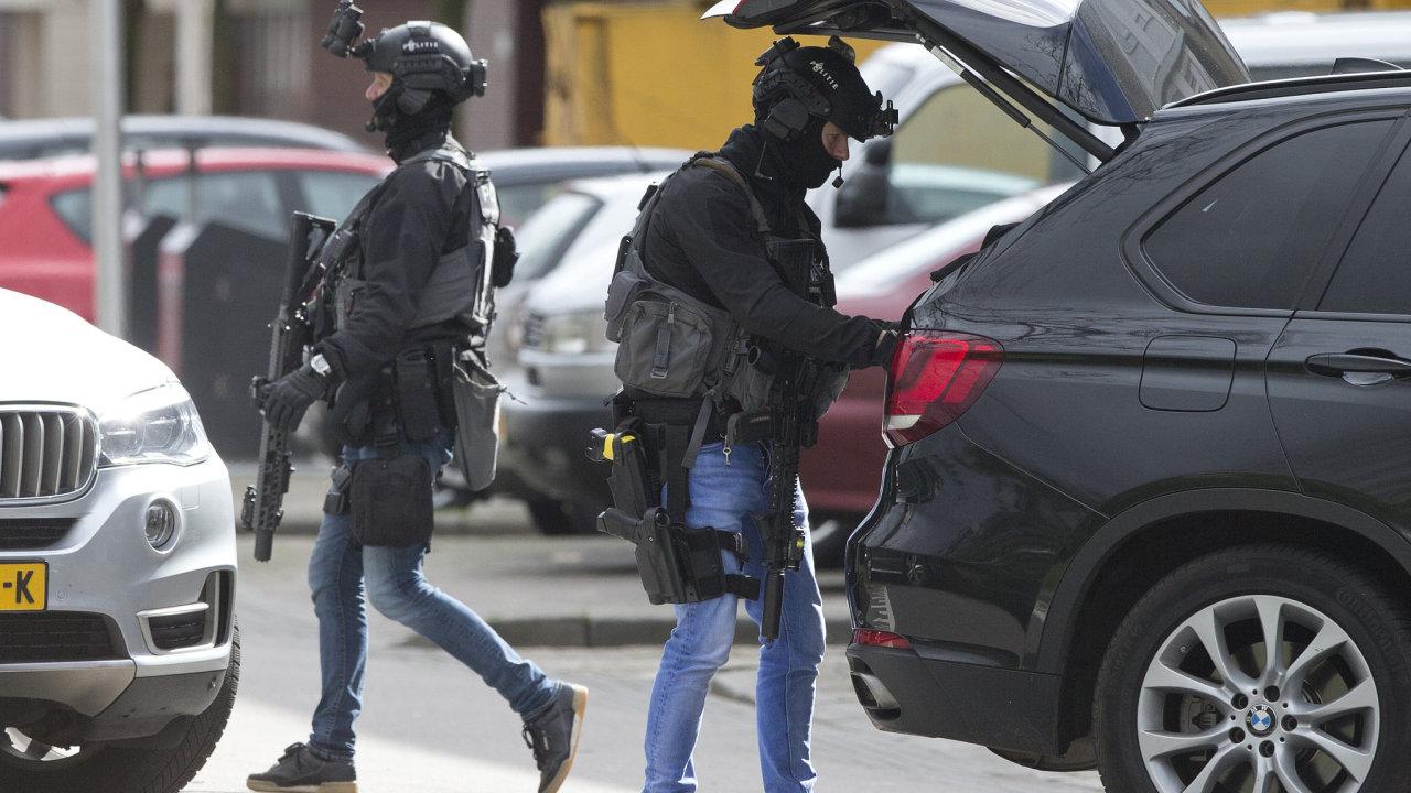 Útok v Utrechtu, nizozemská policie