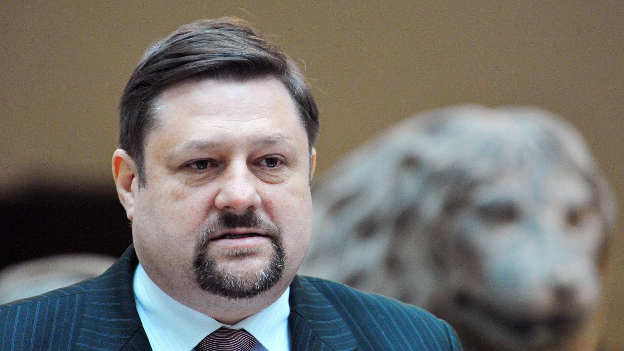 Bývalý poslanec ČSSD Petr Wolf.
