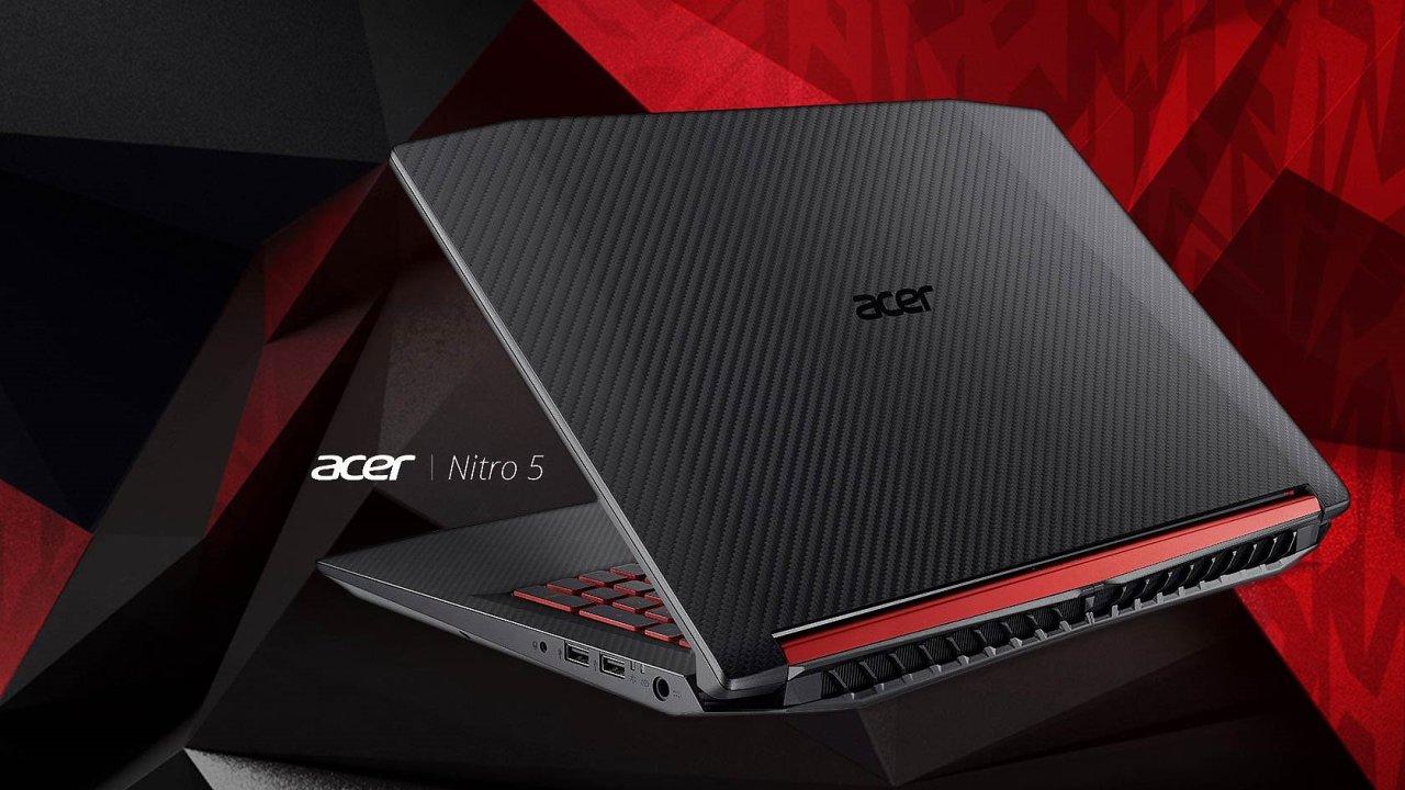 Acer Nitro 5 je spolehlivý i s AMD a zvládne i novější hry.