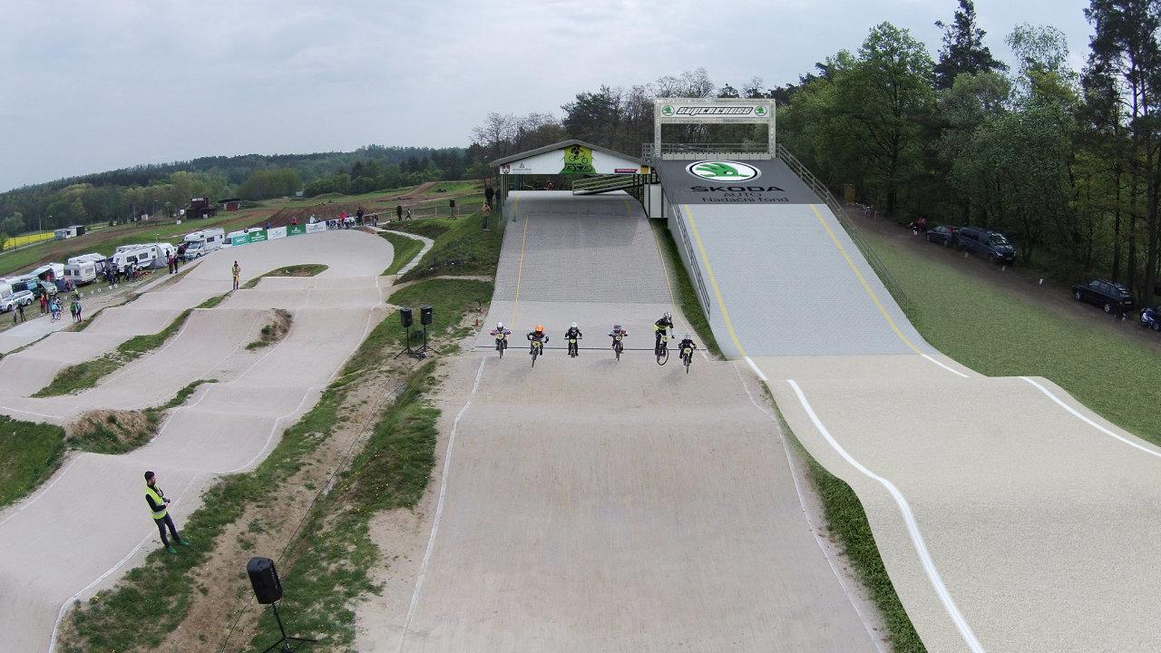Z prostředků nadačního fondu se spolufinancuje výstavba rampy v BMX areálu v Benátkách nad Jizerou.