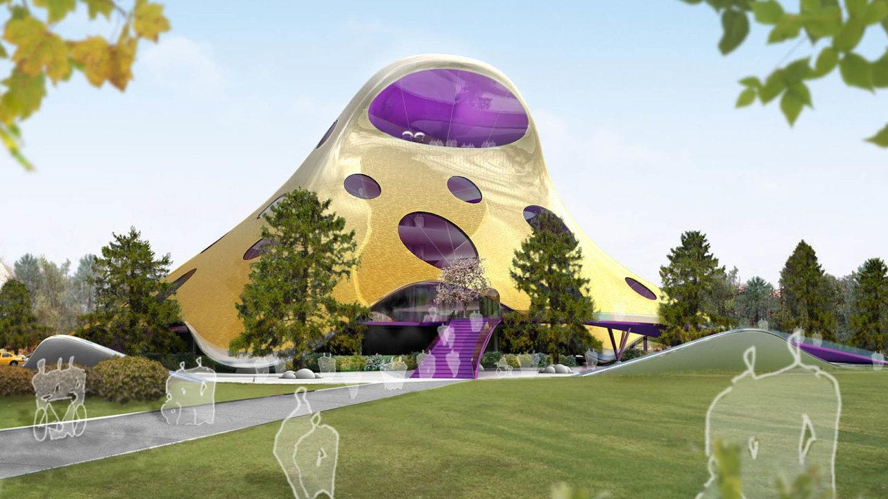 Původně měla nová budova pro Národní knihovnu vyrůst naLetenské pláni. Vítězný návrh architekta Jana Kaplického ale byl napaden usoudu. Ten nakonec rozhodl, že chobotnice nesplňuje podmínky soutěže.