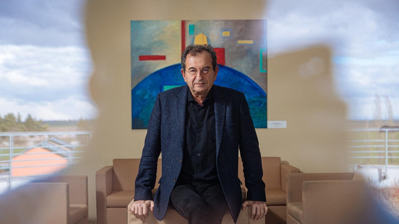 Cyril Höschl, psychiatr, Národní ústav duševního zdraví, spánek Klecany, 12.2. 2020, HN - Lukáš Bíba