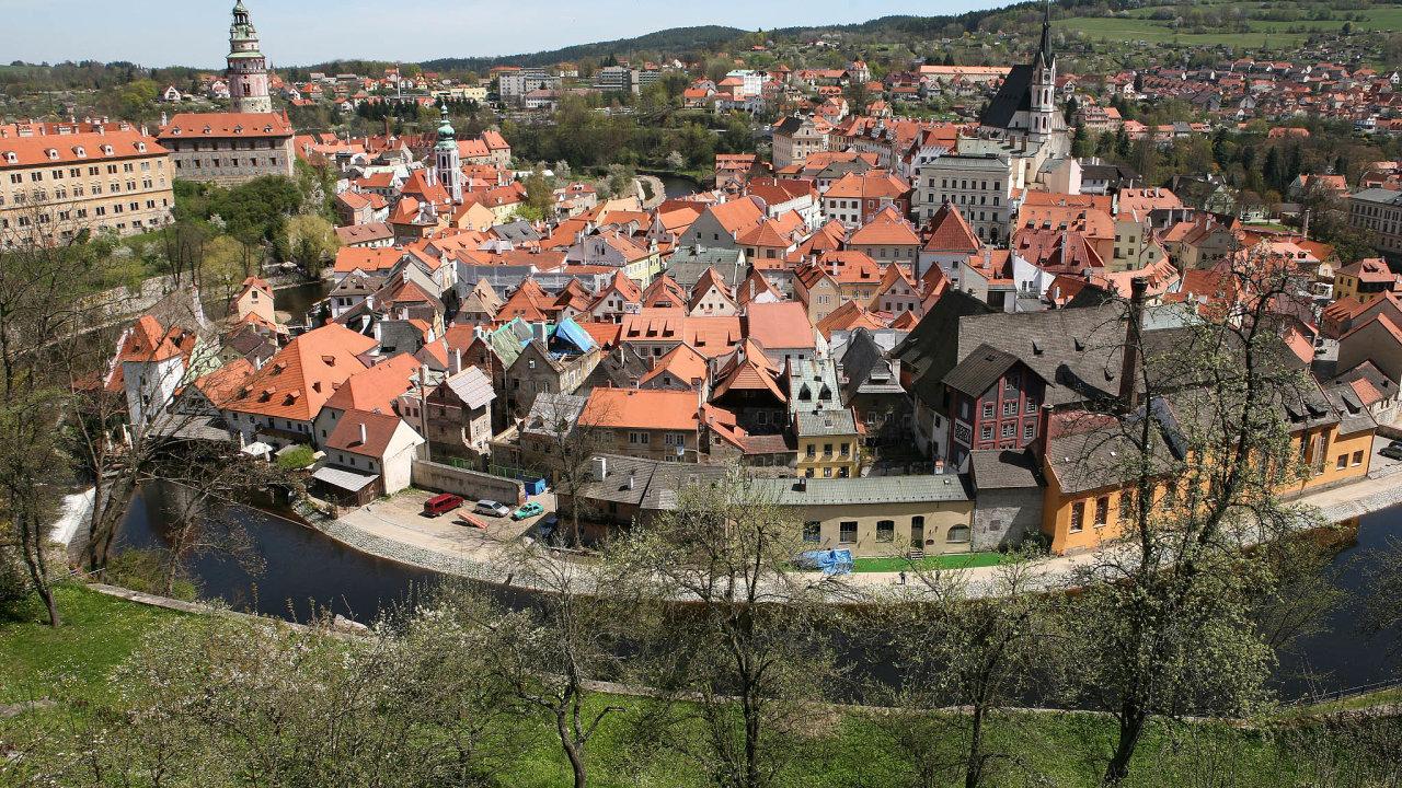 Rána pro turistický ruch: Zavírání hotelů vtuzemsku zasáhlo ijedno znejvíce navštěvovaných míst– Český Krumlov.