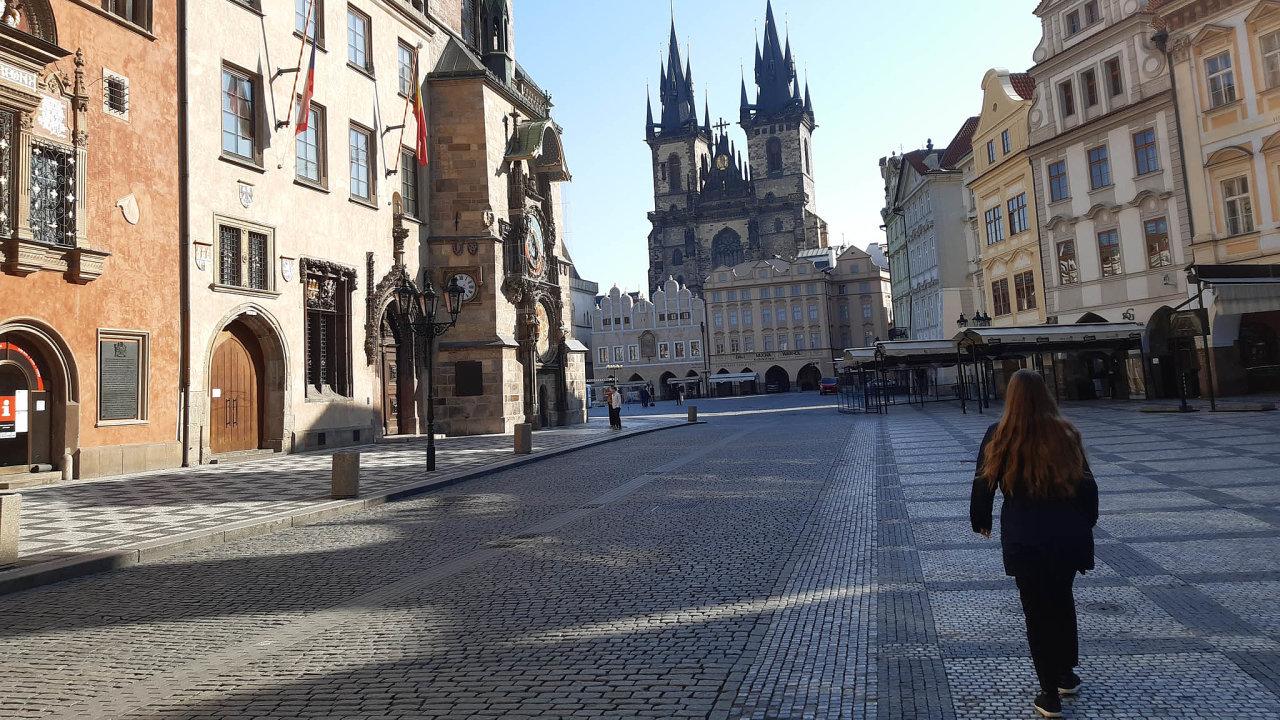 Praha, duben 2020