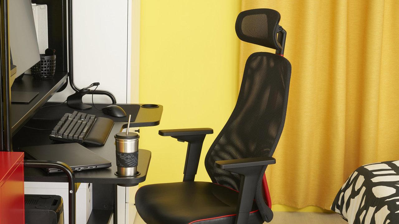 Herní nábytek z Ikey sází na osvědčenou funkci a chytré nápady.
