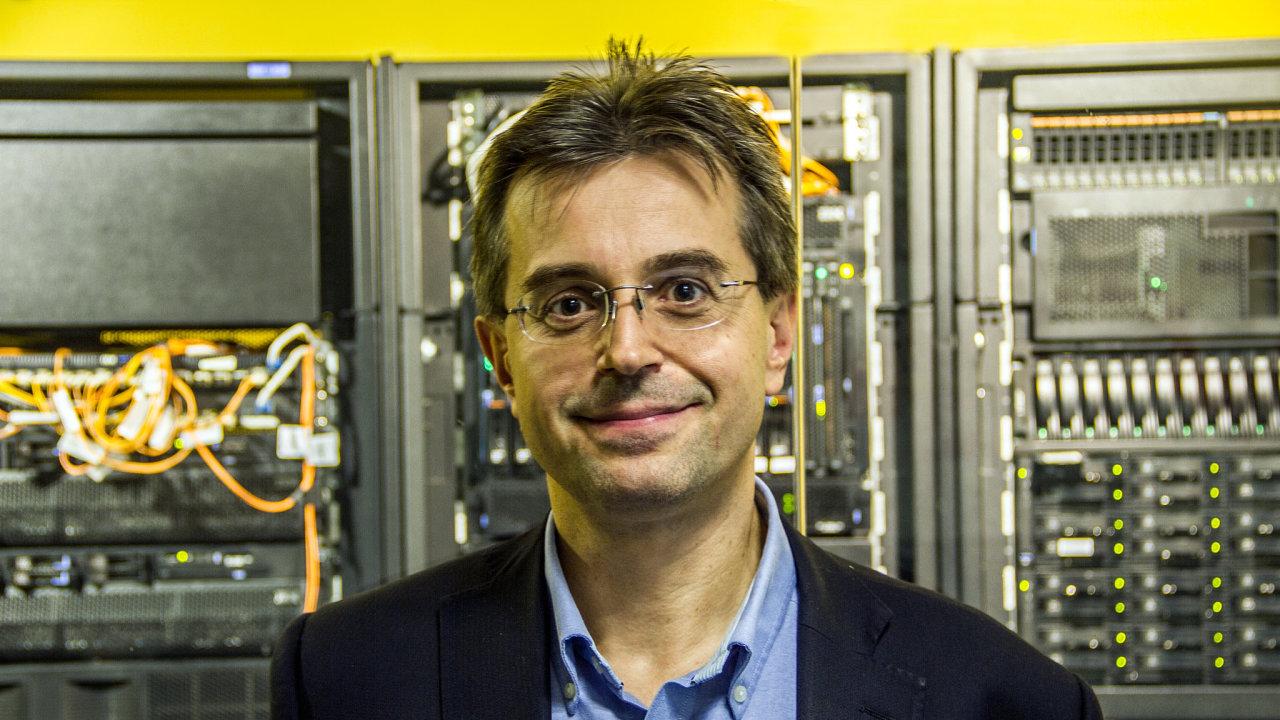 Petr Leština, manažer pro cloudové služby a platformu Watson ve společnosti IBM Česká republika