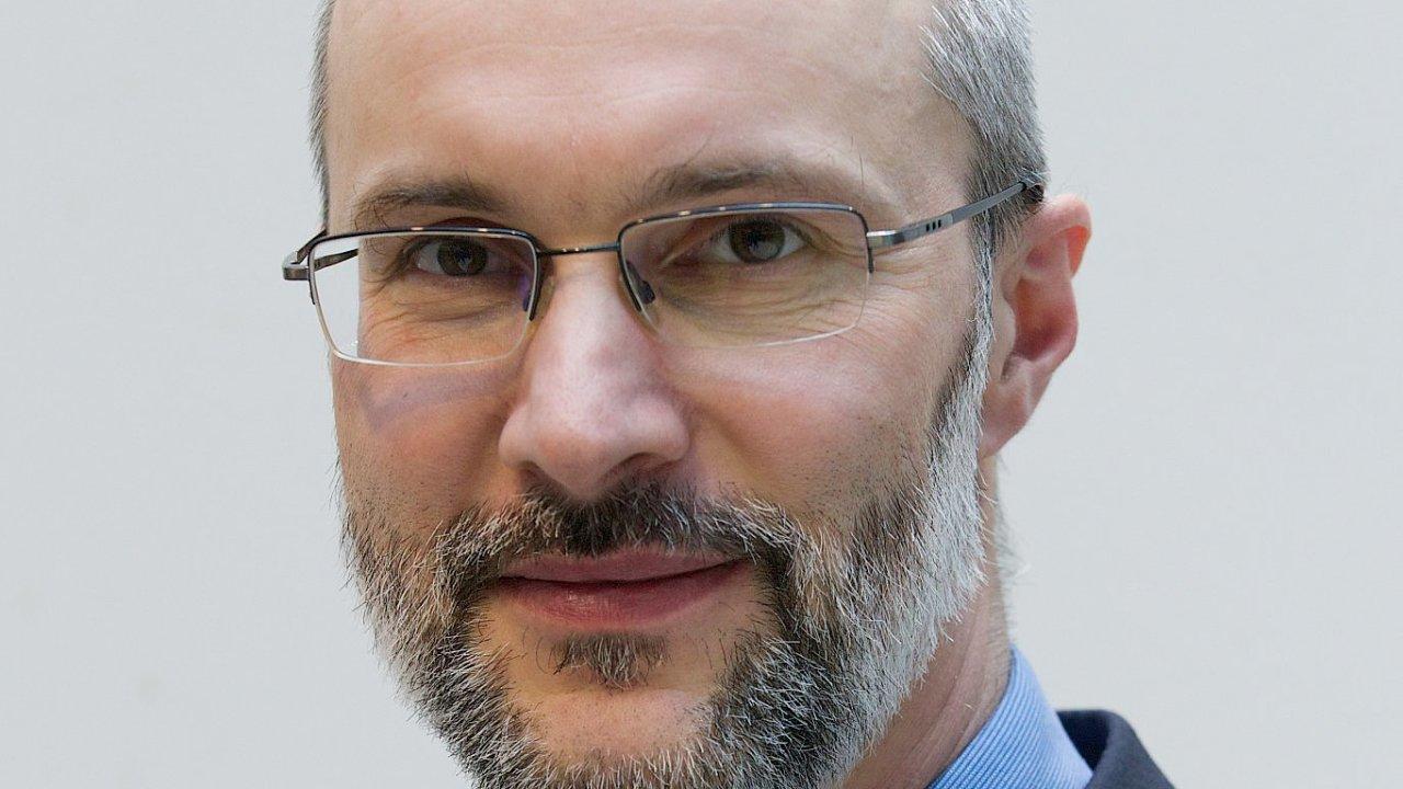Pavel Řežábek, hlavní ekonom ČEZ