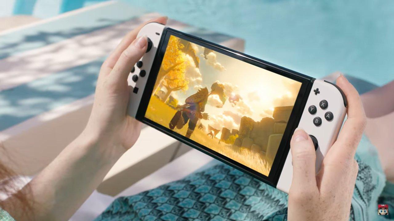 Nintendo Switch OLED bude mít větší a lepší obraz.
