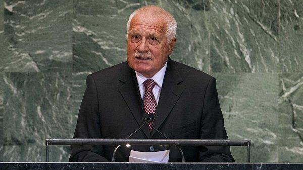 Václav Klaus v OSN
