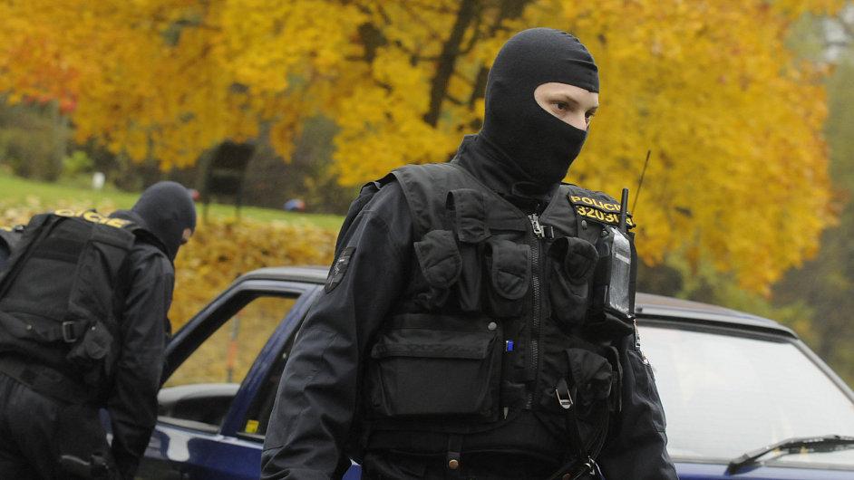 Policejní razie - ilustrační foto